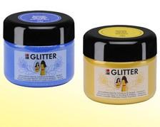 Acryl-Glitterfarben