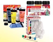 Acrylfarben in Dosen