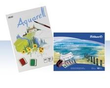 Aquarell-Blöcke