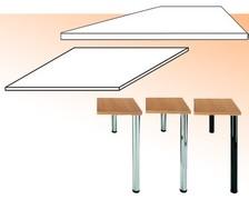 Arbeitsplatten / Tischbeine