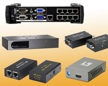 KVM-Audio-Video Extender