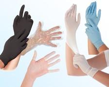 Einweghandschuhe & Fingerlinge