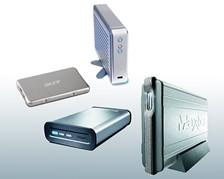 Festplatten USB & FireWire