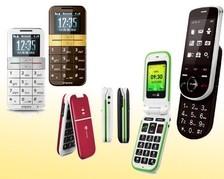 Großtasten Mobiltelefone