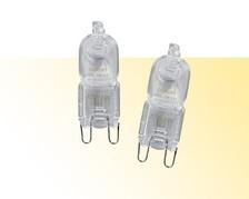 Halogenlampen - Sockel: G9