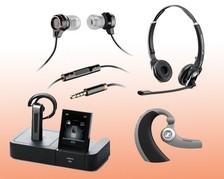 Headset-Telefonie