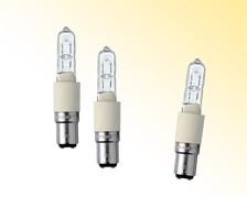 Hochvolt-Halogenlampen - Sockel: B15