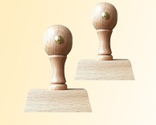Holzstempel - konfigurierbar