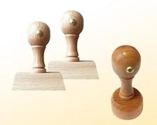 Holzstempel - von Hand gestalten