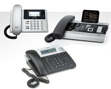 Telefone ISDN schnurgebunden