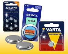 Knopfzellen Batterien