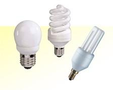 Kompaktleuchtstofflampen - Sockel: E14