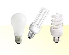 Kompaktleuchtstofflampen - Sockel: E27