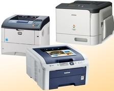 Laserdrucker Farbe