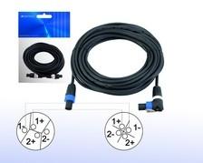 Lautsprecherkabel mit Steckern