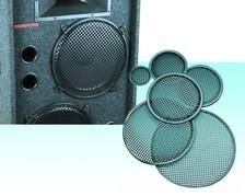 Lautsprecherschutzgitter und Klammern