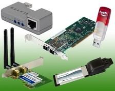 Netzwerkkarten & Adapter
