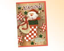 Nikolaus-Grußkarten