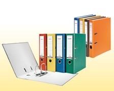 Ordner - farbiges Papier
