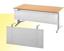 Schreibtisch-Sichtblende