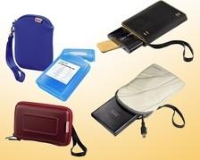 Taschen für Festplatten