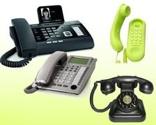 Telefone analog schnurgebunden
