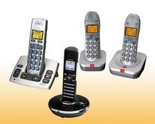 Telefone analog schnurlos