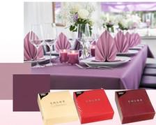 Tisch-Servietten, farbig