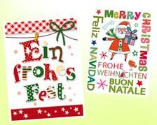 Weihnachts-Minikarten