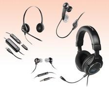 Mobile-Headsets schnurgebunden