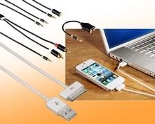 iPad-Anschlusskabel & -Adapter