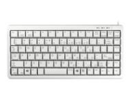 CHERRY Compact corded Keyboard USB grey (US) US-Englisch mit EURO Symbol (G84-4100LCMEU-0)