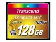 TRANS ND 128GB CompactFlash Karte 1000x up to writespeed 160MB / s and writespeed up to 120MB / s Ultra DMA (UDMA) transfer mode 7 ( CF (TS128GCF1000)