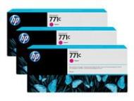 HP 771C Original Tinte magenta Standardkapazität 3 x 775ml 3er-Pack (B6Y33A)
