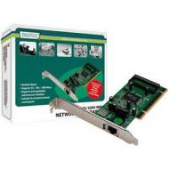 DIGITUS Gigabit PCI Karte 10 / 100 / 1000Mbit 32-bit Gigabit Network Adaptor Realtek 8169SC Chipsatz inkl. Low Profile Bracket (DN-10110)