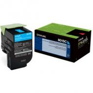 LEXMARK 802SC Toner cyan Standardkapazität 2.000 Seiten 1er-Pack return program (80C2SC0)