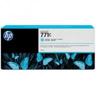 HP 771C Original Tinte hell cyan Standardkapazität 775ml 1er-Pack (B6Y12A)