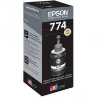 EPSON Tinte T7741 Pigment Black ink bottle 140ml EcoTank (C13T774140)