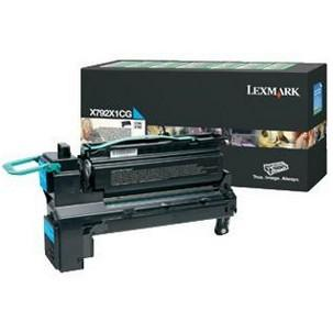 Lexmark toner cyanX792X1CG