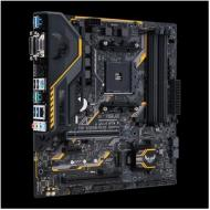 ASUS TUF B350M-PLUS GAMING Socket AM4 AMD Ryzen 7th Generation A-series/Athlon Processors (90MB0UU0-M0EAY0)