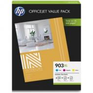 HP 903XL Offi Value Pack 903XL Tinte CMY