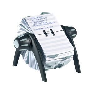 TELINDEX® flip Adresskartei, schwarz / grau 2419-02