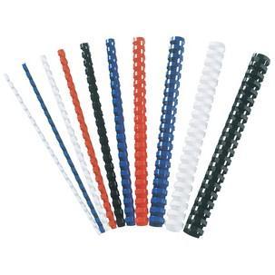 GBC Plastikbinderücken CombBind DIN A4 6 mm rot 100 Stück