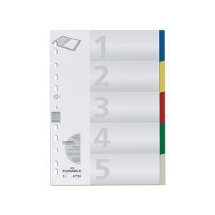 Kunststoff-Register, 5-teilig6730-27