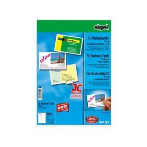 Visitenkarten, spezialbeschichtet mattIP526