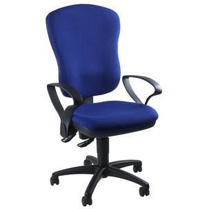 """Bürodrehstul """"Point 80"""", blau mit optionaler Armlehne Typ SU8180 G20"""