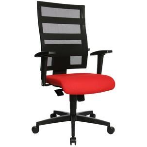 "Bürodrehstuhl ""X-Pander"", rot mit optionaler Armlehne Typ T29500 T200"