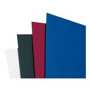 GBC Einbanddeckel LeatherGrain DIN A5 250 g//qm schwarz 100 Stück