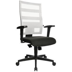 """Bürodrehstuhl """"X-Pander"""", schwarz/weiß mit optionaler Armlehne Typ T29500 T203"""