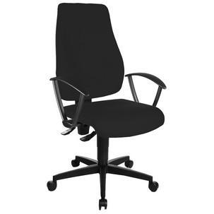"Bürodrehstuhl ""Trendstar 10"", schwarz mit optionaler Armlehne Typ R(OPA)TS100 G20"